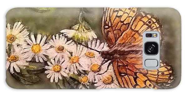 Butterfly Delight Galaxy Case by Kimberlee Baxter