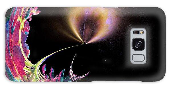 Butterfly Dreams Galaxy Case by Anne Rodkin