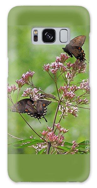 Butterfly Duet  Galaxy Case