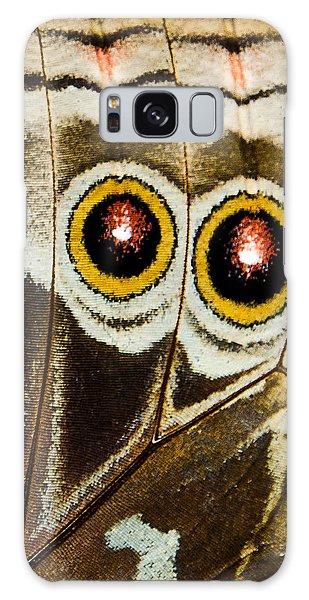 Butterfly Eyes Galaxy Case