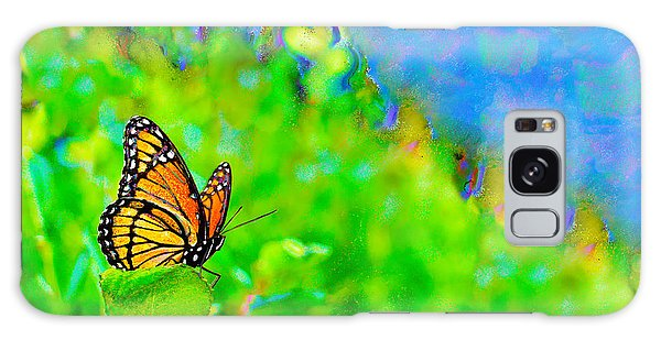 Butterfly Fantasy Galaxy Case by Marianne Campolongo