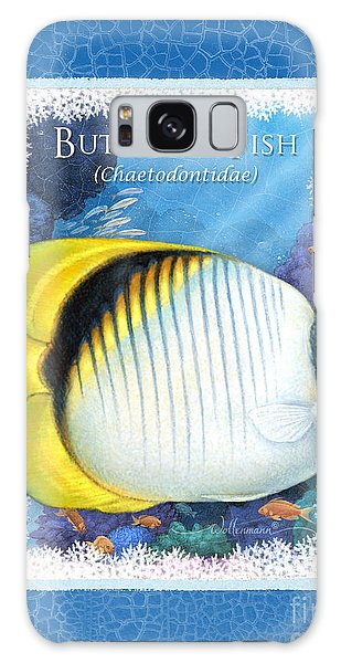 Butterfly Fish Galaxy Case