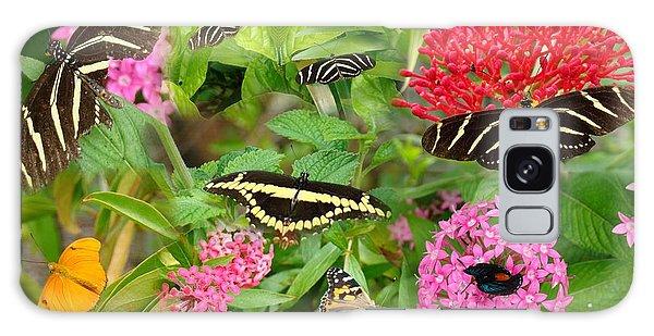 Butterfly High Galaxy Case