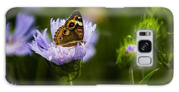 Butterfly In Field Galaxy Case