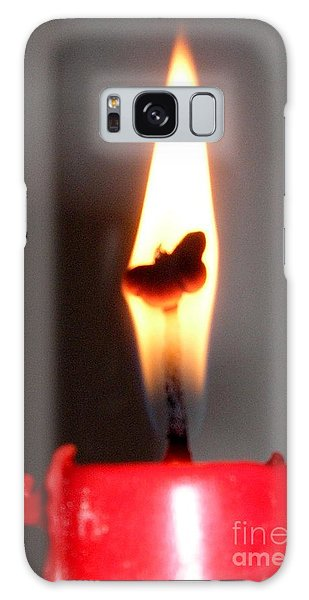 Butterfly Flame Galaxy Case