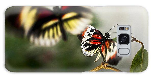 Butterfly In Flight Galaxy Case