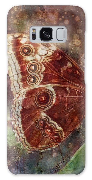 Butterfly In My Garden Galaxy Case by Barbara Orenya