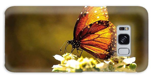 Butterfly In Sun Galaxy Case