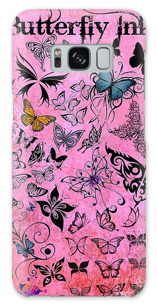Butterfly Ink Galaxy Case by Mindy Bench