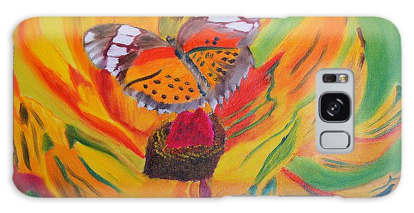 Butterfly Jungle Galaxy Case by Meryl Goudey
