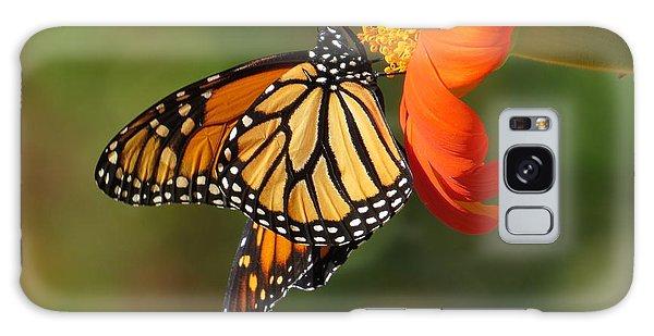 Butterfly Kiss 2 Galaxy Case by Jeanette Oberholtzer