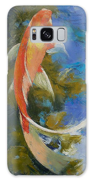 Collectibles Galaxy Case - Butterfly Koi Painting by Michael Creese