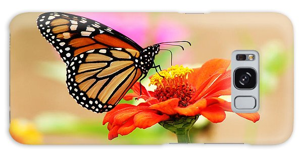 Butterfly Lunch Galaxy Case by Lorna Rogers Photography