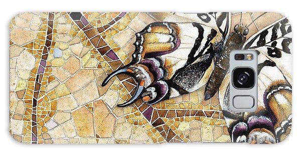 Butterfly Mosaic 01 Elena Yakubovich Galaxy Case