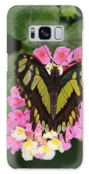 Butterfly Of Love Galaxy Case