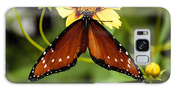 Butterfly On Coreopsis Galaxy Case