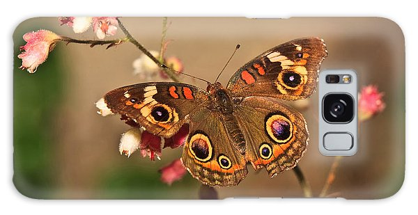 Butterfly On Pink Galaxy Case