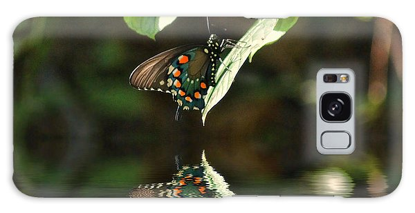 Butterfly Over The River Galaxy Case