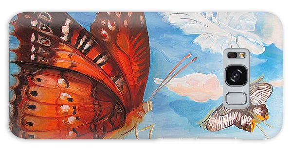 Butterfly Paysage 5 Galaxy Case
