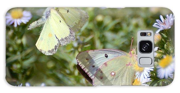 Butterfly Moments  Galaxy Case by Kerri Farley