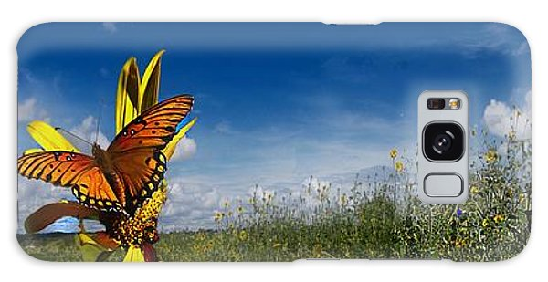 Butterfly Picnic Galaxy Case