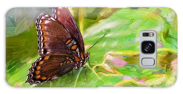 Butterfly - Red-spotted Purple Galaxy Case by Ludwig Keck