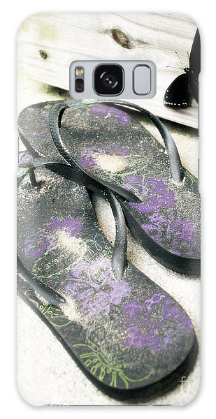 Butterfly Summer Galaxy Case by Angela DeFrias