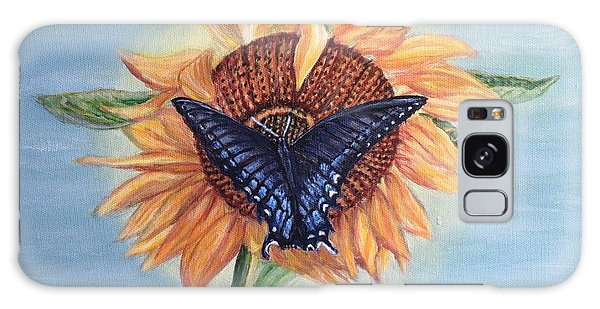 Butterfly Sunday In The Summer Galaxy Case by Kimberlee Baxter