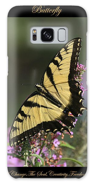 Butterfly Symbol Of Galaxy Case