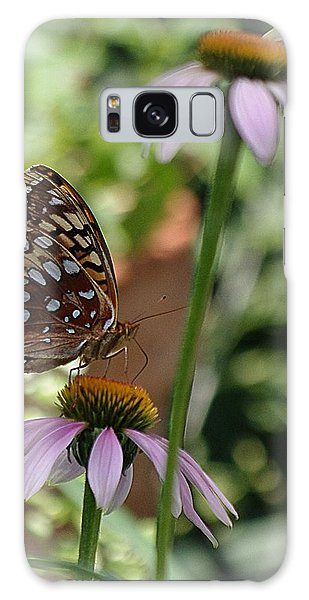 Butterfly Time Galaxy Case by Karen McKenzie McAdoo