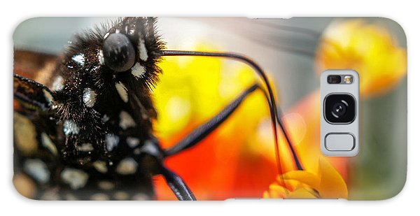 Butterfly Tongue Squared Galaxy Case by TK Goforth