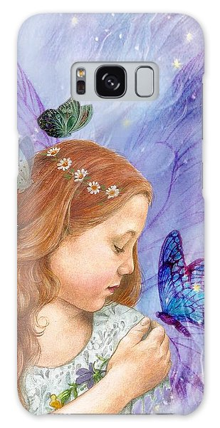 Butterfly Twinkling Fairy Galaxy Case