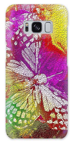 Butterfly World 2 Galaxy Case by Nico Bielow