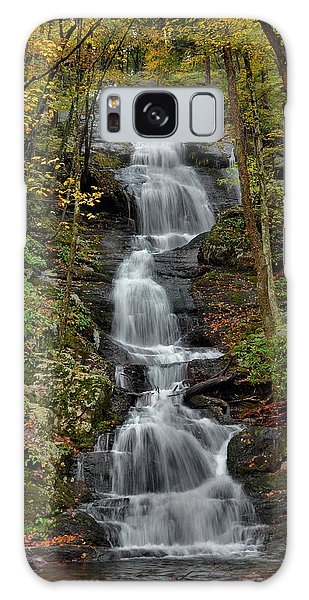 Buttermilk Falls In Autumn Galaxy Case