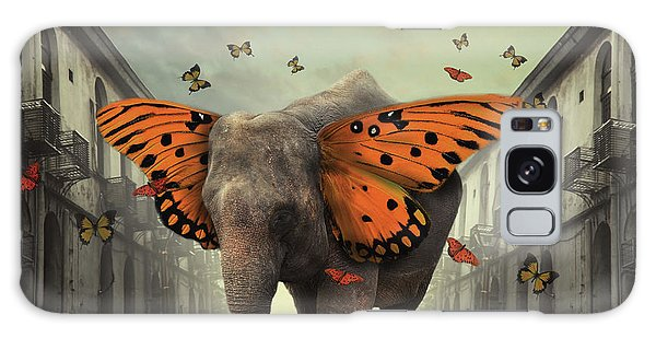 Creative Galaxy Case - Butterphant by Hardibudi