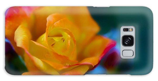 Butterscotch Rose Galaxy Case