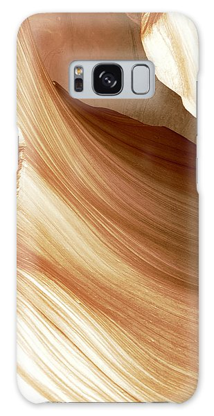 Butterscotch Taffy Antelope Canyon Galaxy Case