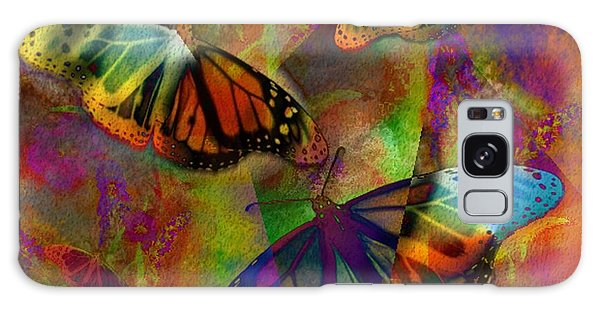 Buttrerfly Collage All About Butterflies Galaxy Case
