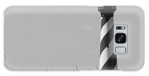 Bw Of Hatteras Lighthouse Galaxy Case by Laurinda Bowling