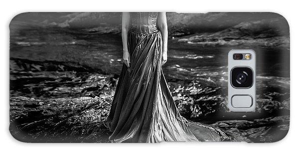 Dress Galaxy Case - Bw Portrait (black And White ) by Mikhail Potapov