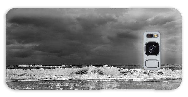 Bw Stormy Seascape Galaxy Case
