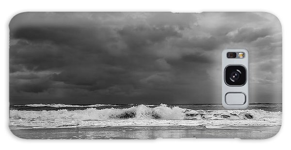 Bw Stormy Seascape Galaxy Case