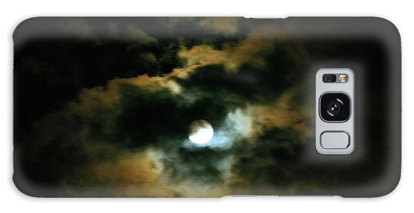 By The Light Of The Harvest Moon Galaxy Case by Margaret Newcomb