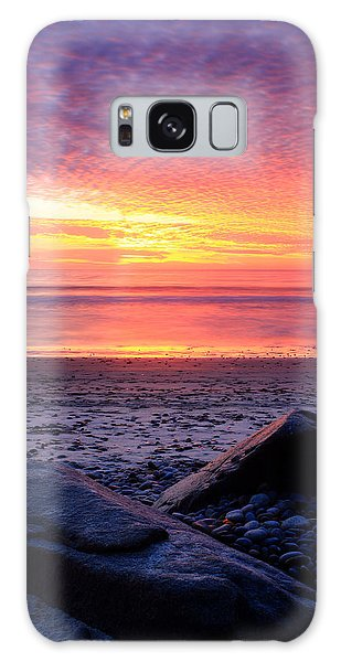 By The Shore Galaxy Case