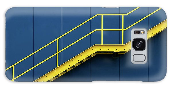 Handrail Galaxy Case - Bycicle by Hans-wolfgang Hawerkamp