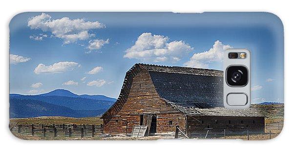 Bygone Days Barn Galaxy Case