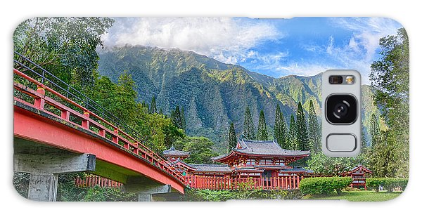 Byodo-in Temple In The Valley Of The Temples Galaxy Case