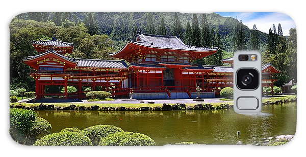Byodo-in Temple On The Island Of Oahu Hawaii Galaxy Case