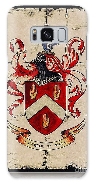 Byrne Coat Of Arms Galaxy Case