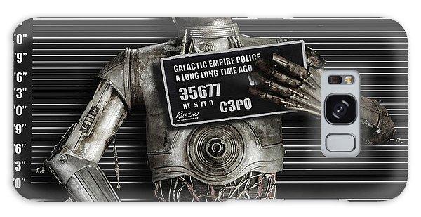 C-3po Mug Shot Galaxy Case